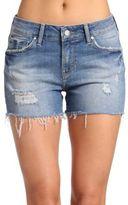 Mavi Jeans Distressed Denim Shorts