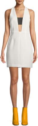 Rag & Bone Izzy Sleeveless Cutout Mini Dress