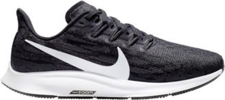Nike Pegasus 36 Running Shoes - Black / White Thunder Grey