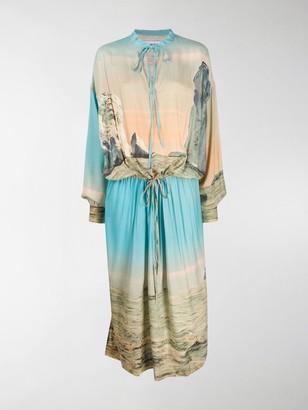 Ambush Landscape drawstring dress