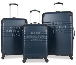 Ben Sherman Ripon 3-Pc. Hardside Luggage Set