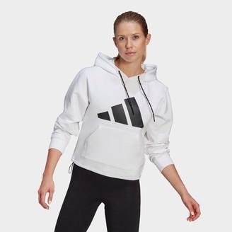 adidas Women's Sportswear Relaxed Doubleknit Hoodie