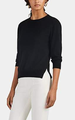 Barneys New York Women's Keyhole-Back Cashmere Sweater - Black