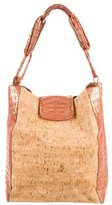 Nancy Gonzalez Metallic Crocodile Bag
