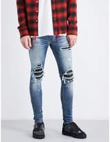 Amiri Leather Patch Slim-fit Skinny Jeans