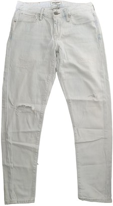 Levi's Made & Crafted White Cotton Jeans for Women