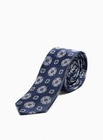 TopmanTopman Navy Geometric Print Tie