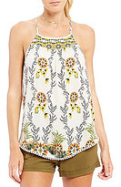 Coco + Jaimeson Twin-Printed Camisole Top