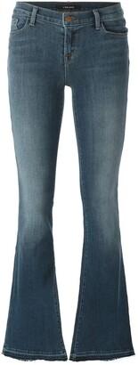J Brand low-waist bootcut jeans