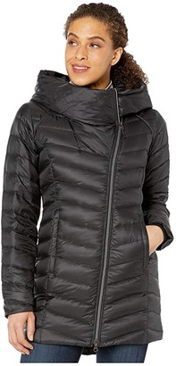 Spyder Timeless Long Down Jacket (Black) Women's Coat