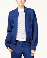 DKNY Ribbed Bomber Jacket