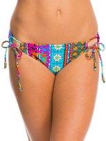 Hobie Sun Daze Stripe Adjustable Hipster Bikini Bottom 8140307