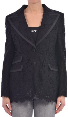 Dolce & Gabbana Lace Jacket Black