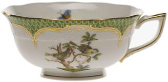 Herend Rothschild Bird Green Motif 11 Tea Cup