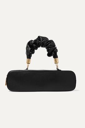 THE SANT Kinchaku Mini Leather Tote - Black