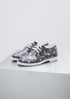 Comme des Garcons Navy / White PVC Polka Dot Sneaker