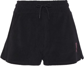 Les Girls Les Boys Cotton-terry Shorts