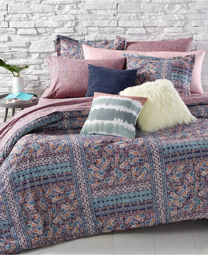 BCBGeneration Batik Floral Twin/Twin Xl Comforter Set Bedding