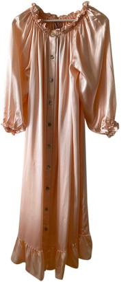 Sleeper Pink Silk Dresses