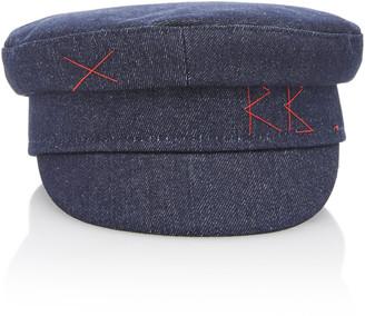 Ruslan Baginskiy Hats Denim Baker Boy Cap