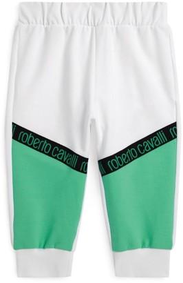 Roberto Cavalli Junior Logo Tape Sweatpants
