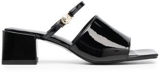 Versace Jeans Couture Logo-Strap Sandals
