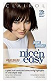 Clairol Nice 'n Easy with Color Blend Technology Permanent Color, Natural Dark Caramel Brown 120B 1 ea (Pack of 4)