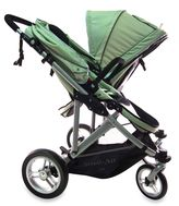 Bed Bath & Beyond Stroll-Air My Duo Double Twin Stroller in Green