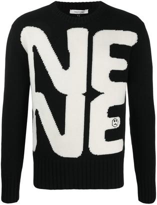 Valentino Need crew-neck jumper