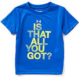 Under Armour Little Boys 2T-7 Is That All You Got Short-Sleeve Tee