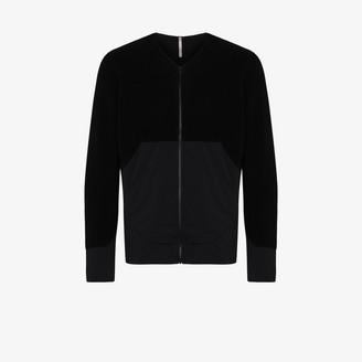 Veilance Black Dinitz zip-up jacket