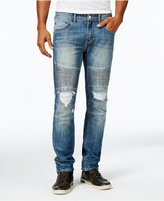 INC International Concepts Men's Medium Blue Wash Skinny Jeans, Only at Macy's