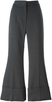 Stella McCartney Crop Cuff Flare Pant