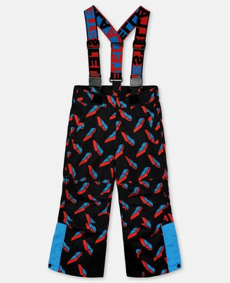 Stella Mccartney Kids Stella McCartney 3d lightning poly ski trousers