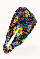 Forever 21 Kaleidoscopic Floral Headwrap
