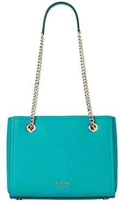 Kate Spade Amelia Pebble Small Tote (Fiji Green) Handbags