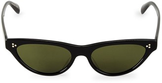Oliver Peoples 53MM Cat Eye Sunglasses
