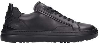 Buscemi Estra Sneakers In Black Leather