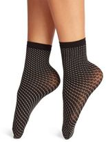 Wolford Cilou Textured Net Socks