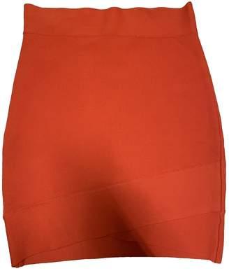 BCBGMAXAZRIA \N Orange Skirt for Women