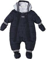 HUGO BOSS Nylon & Plush Baby Bunting