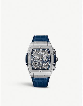 Hublot 641.NX.7170.LR Spirit of Big Bang titanium and alligator-leather watch