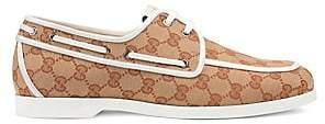 Gucci Men's Vintage Boat Shoes