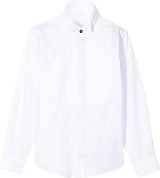Paolo Pecora Kids Tuxedo Shirt