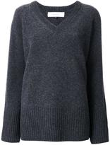 Le Ciel Bleu 'Boiled V-neck' sweater