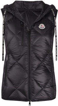 Moncler Quilted Logo Gilet