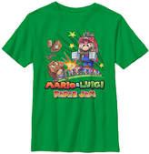 Fifth Sun Mario & Luigi Paper Jam Goomba Tee - Youth