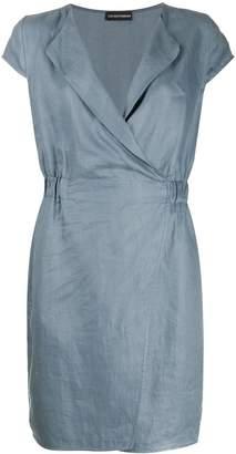 Emporio Armani short-sleeve shift dress