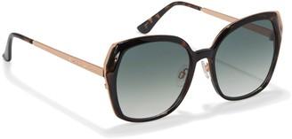 Vince Camuto Cutout-detail Angular Sunglasses