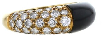Cartier 1970s Pre-Owned Yellow Gold And Diamond Ring